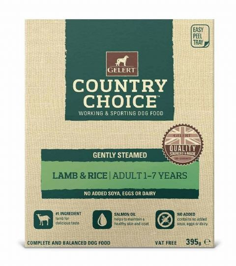 Gelerts Country Choice Lamb & Chicken 395g x 10